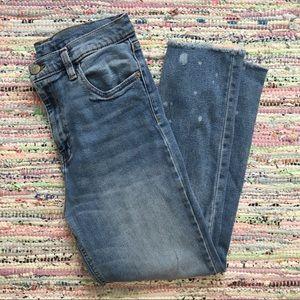 UO Girlfriend Crop Jeans